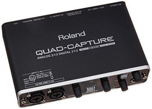 photo Wallpaper of Roland-Interface Audio Roland Quad Capture Ua55-Schwarz