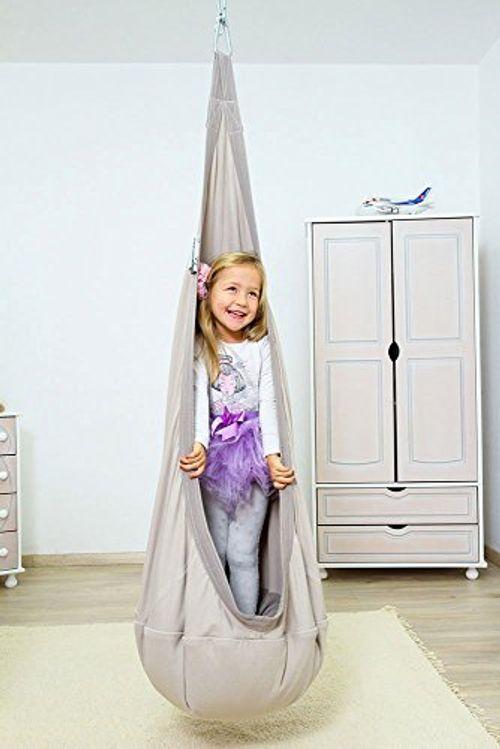 photo Wallpaper of Lola Home & Garden-Lola Hängehöhle Loli Kids HAPPINESS Öko Tex Kindersitz-