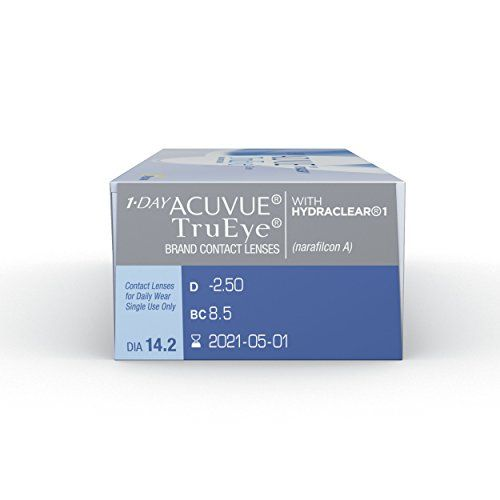 photo Wallpaper of Acuvue-Acuvue 1 Day TruEye Tageslinsen Weich, 30 Stück/BC 8.5 Mm/DIA 14.2/ 4.00 Dioptrien-Farblos