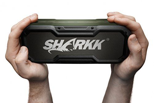 photo Wallpaper of Sharkk-Sharkk Commando+ Bluetooth Lautsprecher IP65 Robuste Wasserdichte Drahtlose Lautsprecher Mit 6600mAh Batterie-Schwarz