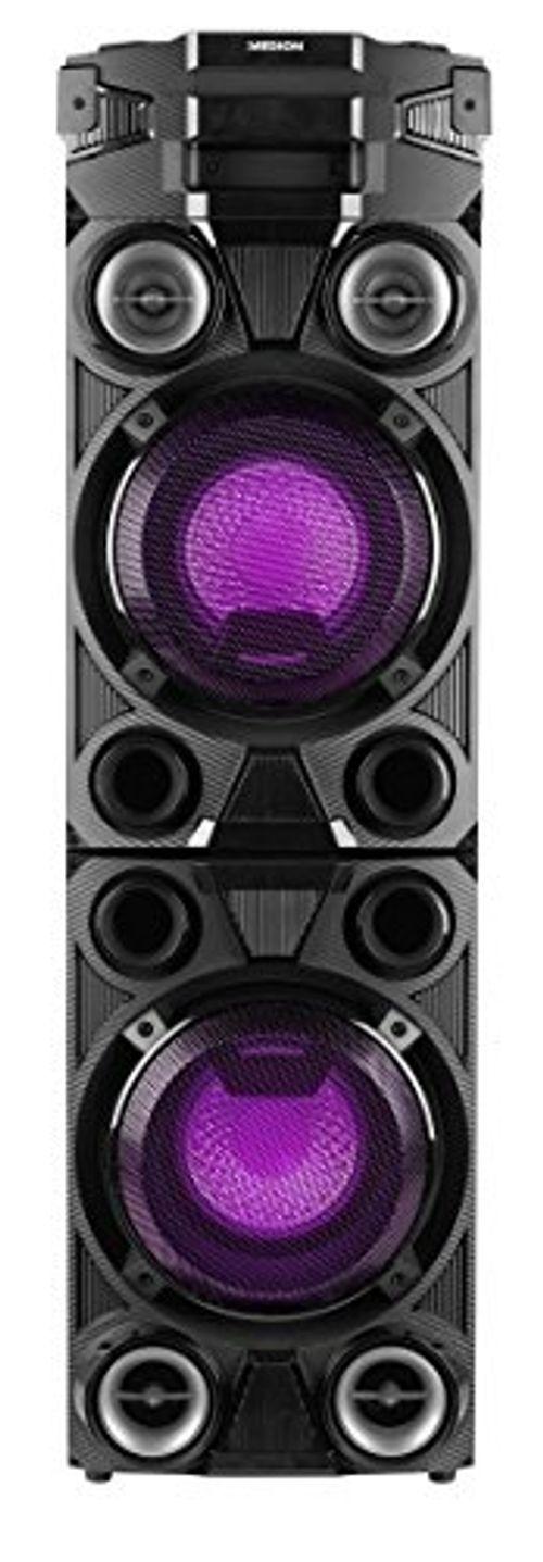 photo Wallpaper of Medion-Medion X67015 Party Soundsystem Mit Bluetooth 2.1 (Kompaktanlage, 1000 Watt,-schwarz