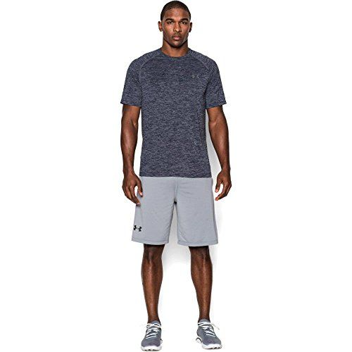 photo Wallpaper of Under Armour-Under Armour Ua Tech Ss Tee Herren Fitness  -Academy/ Steel (414)