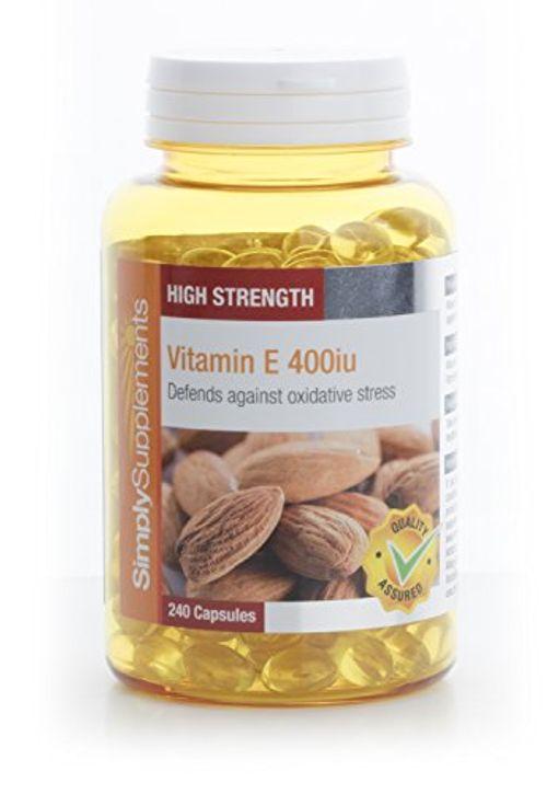 photo Wallpaper of SimplySupplements-Vitamina E 400ui   240 Cápsulas   Hasta 8 Meses De Suministro-