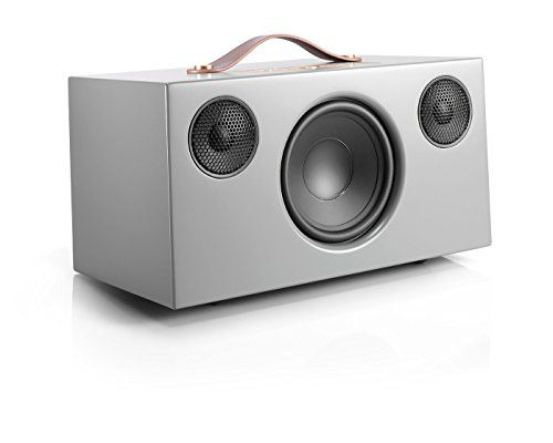 photo Wallpaper of Audio Pro-Audio Pro Addon C10 WLAN Multiroom Lautsprecher (Stereo, Airplay, Bluetooth, WiFi) Grau-Storm Grey