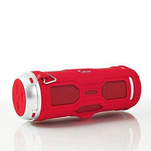 photo Wallpaper of Leicke-LEICKE DJ Roxxx Active Stereo Tragbarer Lautsprecher 10W Rot–Tragbare Lautsprecher (2 Wege,-rot