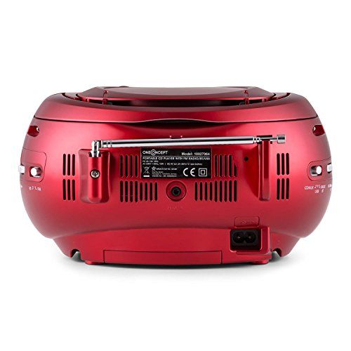 photo Wallpaper of OneConcept-OneConcept Groovie RD • CD Radio • Boombox • CD Player •-rot