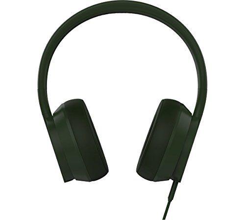 photo Wallpaper of PLUGGED-PLUGGED PCRWN16OG Crown On Ear Flexibler Faltbarer Stylischer Stereo Hi-Olive/Graphite