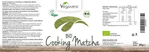 photo Wallpaper of Vegavero-MATCHA Orgánico Para Cocinar 200g   Grado Culinario   Ideal Para-
