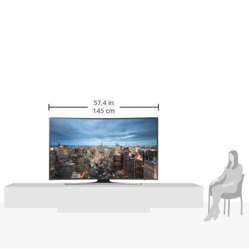 photo Wallpaper of Samsung-Samsung JU6550 163 Cm (65 Zoll) Curved Fernseher (Ultra HD, Triple-Schwarz