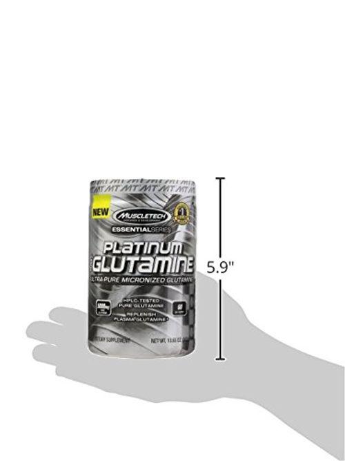 photo Wallpaper of MuscleTech-Muscletech Platinum 100% Glutamine 60 Serv   Suplemento De Glutamina, 302 Gr-Plata
