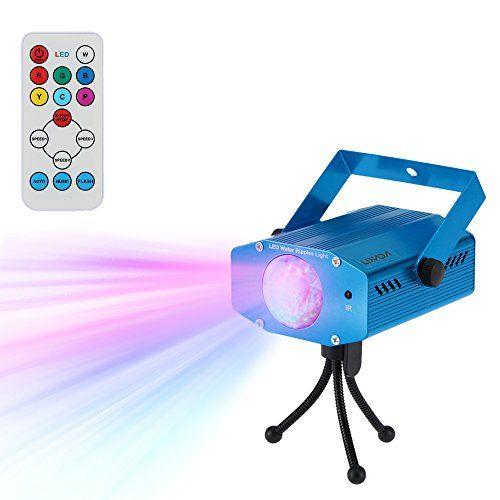 photo Wallpaper of Lixada-Lixada Disco Lichteffekte, Disco Licht Mit Fernbedienung Und Musikgesteuert 9W Bühnenbeleuchtung-Blau