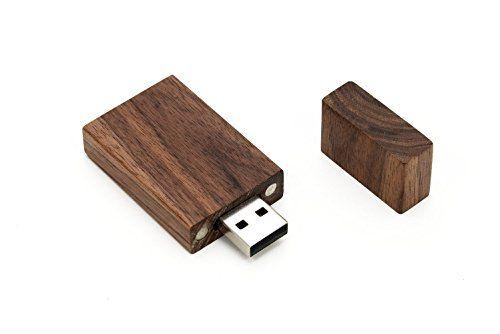 photo Wallpaper of Yaxiny-Yaxiny 5Stück Rechteck Walnussholz 2.0/3.0USB Flash Drive USB Disk Memory Stick Mit Holz-Wood USB Disk-4