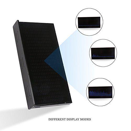 photo Wallpaper of DROK-DROK® AS1424 Musik Spectrum LED Blinkt Kit, LED Anzeige Elektro Ebene-