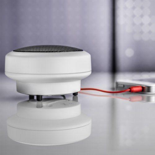 photo Wallpaper of Wavemaster-Wavemaster MOBI 2 Mini Lautsprecher Mit Bluetooth Funktion (1 Stück) Für Mobile Soundquellen Wie-Weiß