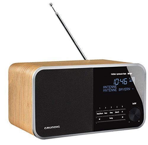 photo Wallpaper of Grundig-Grundig DTR 3000 Table Digital Radio, 30 W PMPO, AUX IN, UKW-Oak