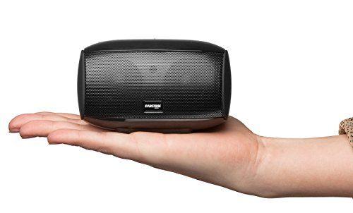 photo Wallpaper of Cabstone-Cabstone SoundBox (kräftiger Bluetooth Lautsprecher Mit Touch Panel), Schwarz-Schwarz