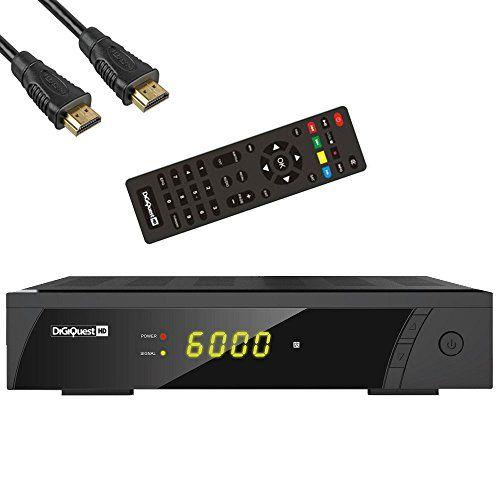 photo Wallpaper of Digiquest-DigiQuest 8010HD Digitaler Full HD Satellitenreceiver FTA HDTV DVB S2-