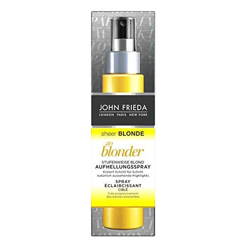 photo Wallpaper of John Frieda-John Frieda Sheer Blonde Go Blonde Gradual Rubio Blanqueador Spray,-