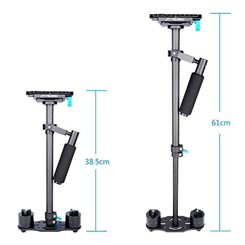 photo Wallpaper of YELANGU-Yelangu Verstellbar S60T Karbonfaser Tube 60 cm Handheld DSLR Video Kamera Stabilisator Kompakte Steadycam-