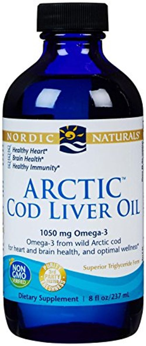 photo Wallpaper of Nordic Naturals-Aceite De Hígado De Bacalao ártico, 8 Fl Oz (237 Ml)-