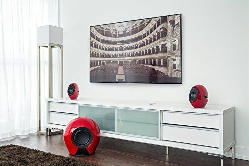 photo Wallpaper of Edifier-Edifier E235 RD Luna 2.1 Home Entertainment System Mit Buetooth-rot