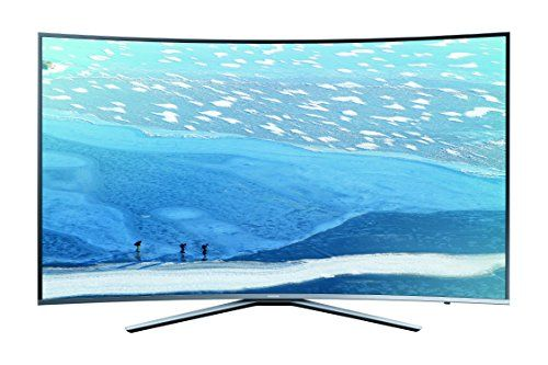 photo Wallpaper of Samsung-Samsung KU6509 138 Cm(55 Zoll) Curved Fernseher (Ultra HD, Triple Tuner, Smart TV)-silber