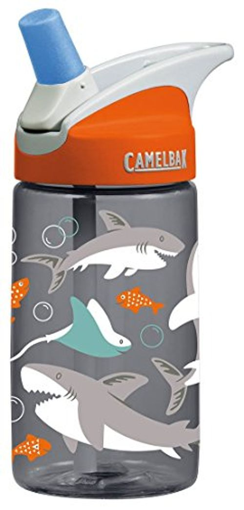 photo Wallpaper of CamelBak-CamelBak Kinderflasche Eddy, Sharks, 0.4 Liter, 53860-Sharks