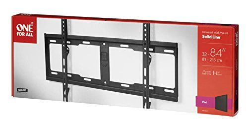 photo Wallpaper of One for All-TV Wandhalterung Für Die Flache Installation Von One For All  -Schwarz