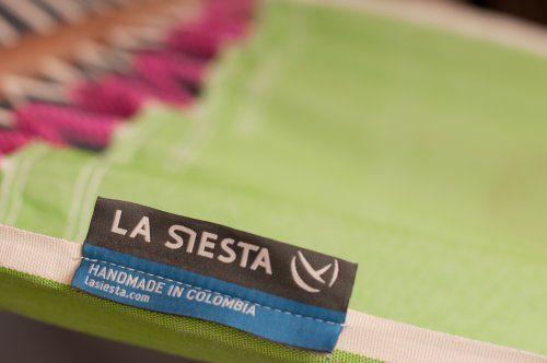 photo Wallpaper of La Siesta-LA SIESTA   FRR11 4 Fruta Kiwi   Einzel Stabhängematte Outdoor-grün