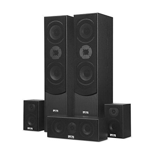photo Wallpaper of auna-Auna Surround • Lautsprecher Boxen Set • Surround Sound System • Heimkinosystem •-schwarz