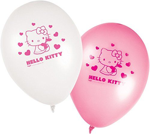 photo Wallpaper of Generique --Generique   8 Luftballons Hello Kitty-Mehrfarbig