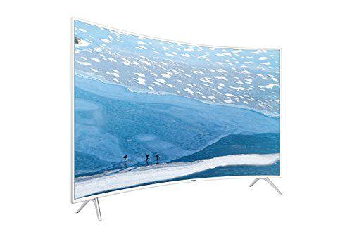 photo Wallpaper of Samsung-Samsung KU6519 138 Cm (55 Zoll) Curved Fernseher (Ultra HD, Triple-weiß