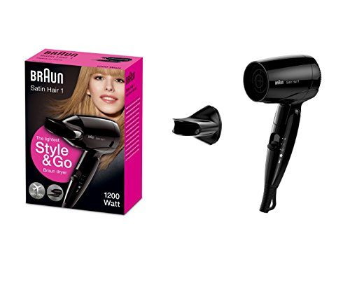 photo Wallpaper of Braun-Braun Satin Hair 1 HD130 Style&Go   Secador De Viaje, 1200 W-Negro