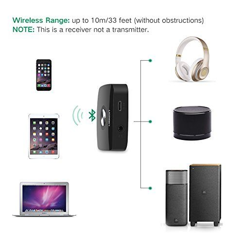photo Wallpaper of UGREEN-UGREEN Bluetooth Empfänger 4.1 Bluetooth Receiver Wireless Audio Adapter Mit-