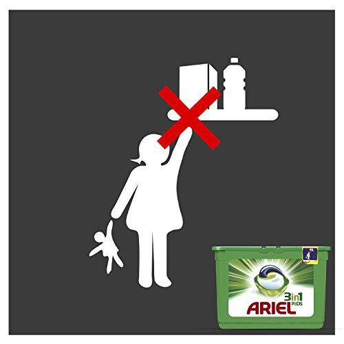 photo Wallpaper of Ariel-Ariel 3 En 1 PODS Original Detergente En Cápsulas   114-Original