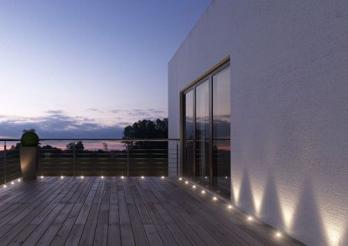 photo Wallpaper of Osram-Osram LED GartenSpot, Noxlite, Gartenleuchte, 9 Mini Spots, 5m Länge,-Warmweiß