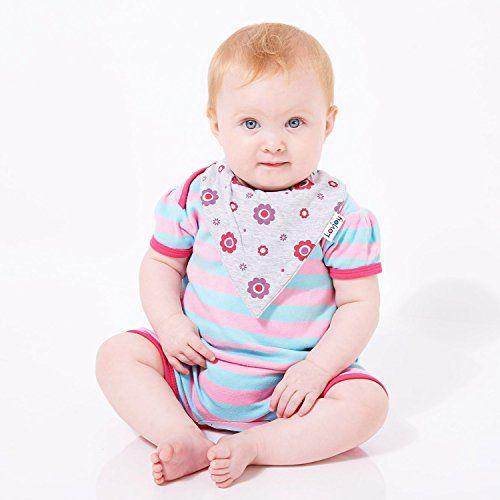 photo Wallpaper of Lovjoy-Lovjoy Baberos Del Bebé   Paquete De 5 Diseños Para Niña (Bonitos-