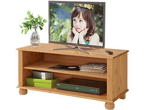 photo Wallpaper of Loft24-MACON TV Lowboard TV Bank Fernseh Schrank Fernseh Tisch Wohnzimmer Möbel 95 X-Gebeizt Geölt