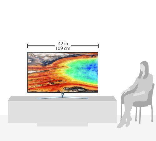 photo Wallpaper of Samsung-Samsung MU8009 123 Cm (49 Zoll) Fernseher (Ultra HD, Twin Tuner,-Silber