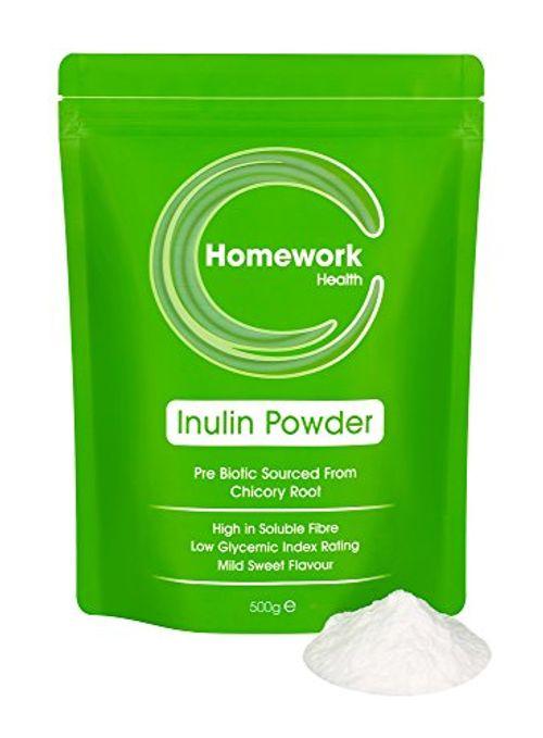 photo Wallpaper of Homework Health-Hausaufgaben Gesundheit Hochwertiges Inulin Pulver   Lösliche Ballaststoffe Ergänzung-