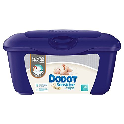 photo Wallpaper of DODOT-Dodot Sensitive   Caja De  Para Bebé 54 Toalitas   Pack-