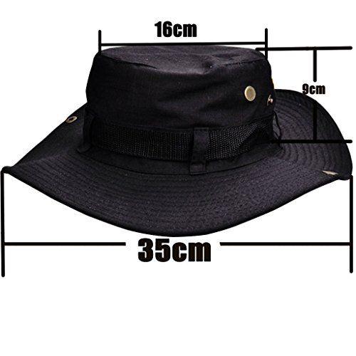 photo Wallpaper of Beileer-Beileer Stylische Sun Hat UV Schutz Outdoor Bucket Hat Für Outdoor Angeln Camping-schwarz