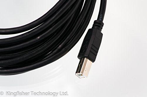 photo Wallpaper of What Accessory-Kingfisher Technology 2m USB PC Kabel/schnell Daten Synch, Schwarz, Adapter Für-Schwarz