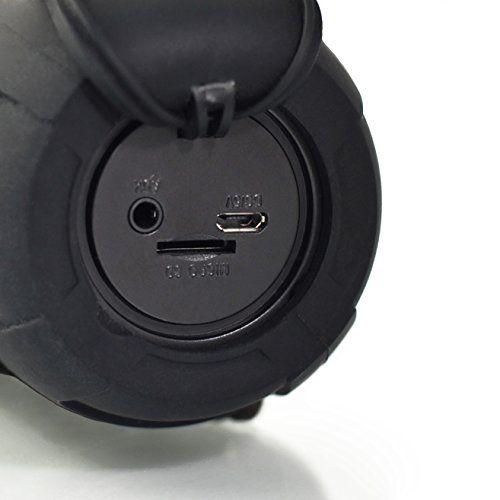 photo Wallpaper of Leicke-LEICKE DJ Roxxx Active Stereo Tragbarer Lautsprecher 10W Schwarz–Tragbare Lautsprecher (2 Wege, 3,81cm, 10W,-Schwarz