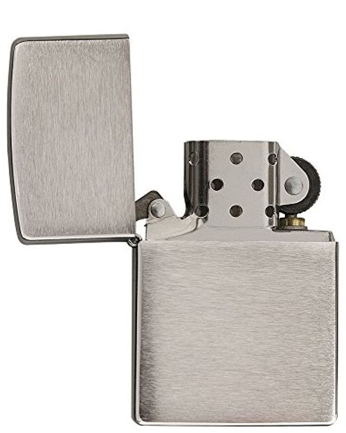 photo Wallpaper of Zippo-Zippo Mechero De Gasolina, Color Cromo-Cromo