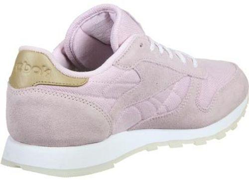photo Wallpaper of Reebok-Reebok Damen Schuhe/Sneaker Classic Leather Sea Worn Violet 38-Violet