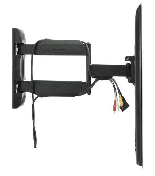 photo Wallpaper of InVision-Invision® Ultra Schlank TV Wandhalterung Mit 20 Zoll Freitragender Arm/ 1,8 Zoll-Noir