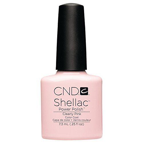 photo Wallpaper of NDC-CND Shellac Esmalte De Uñas De Gel, Tono Clearly Pink-