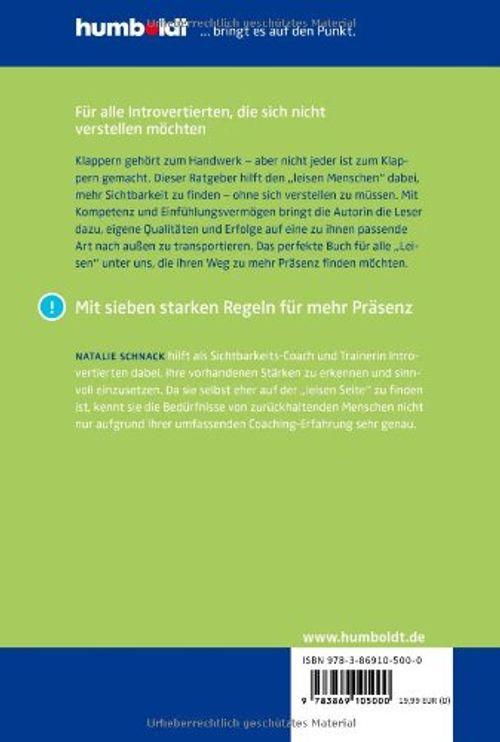 photo Wallpaper of Humboldt Verlag-Leise überzeugen: Mehr Präsenz Für Introvertierte. Der Ratgeber Für Alltag-