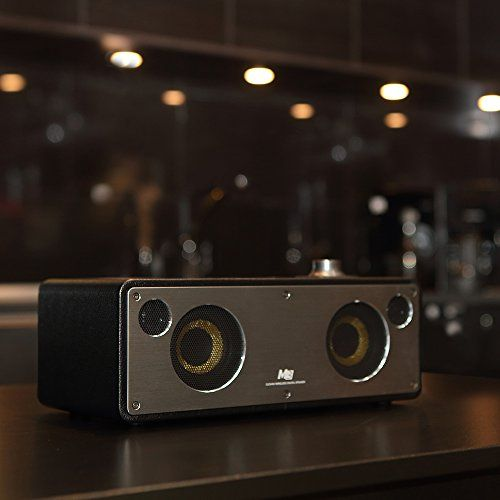 photo Wallpaper of GGMM-GGMM M3 Wi Fi Lautsprecher Bluetooth Lautsprecher Airplay Multiroom Lautsprecher 2.0 Stereomusiksystem,-schwarz